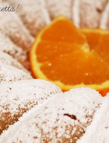 Ciambellone Vegan all'Arancia