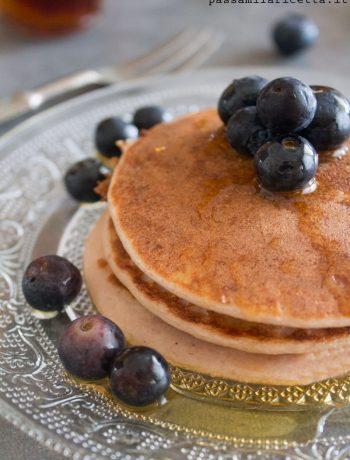 pancakes proteici senza glutine