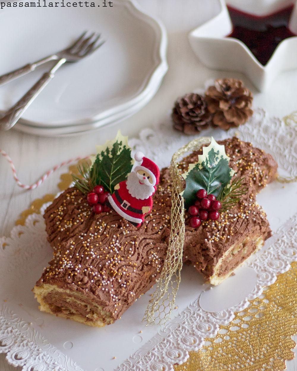 Tronchetto Di Natale.Tronchetto Di Natale Facile In Due Versioni Passami La Ricetta