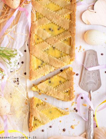 crostata ricotta e gocce di cioccolato ricetta infallibile