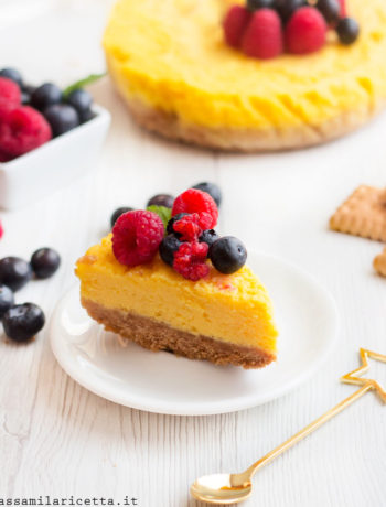 new york cheesecake al microonde