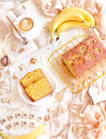 banana cake torta morbida alla banana
