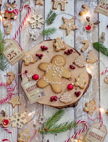 biscotti pan di zenzero gingerbread cookies