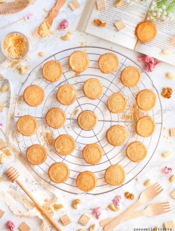 biscotti alla farina di soia kinako cookies